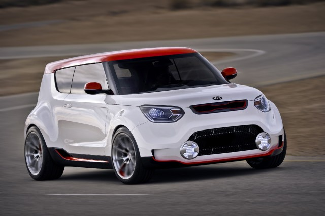 Le prototype Kia Track'ster... (Photo fournie par Kia)