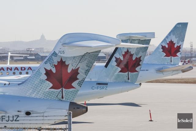 Les obligations linguistiques du transporteur Air Canada et... (Photothèque Le Soleil)