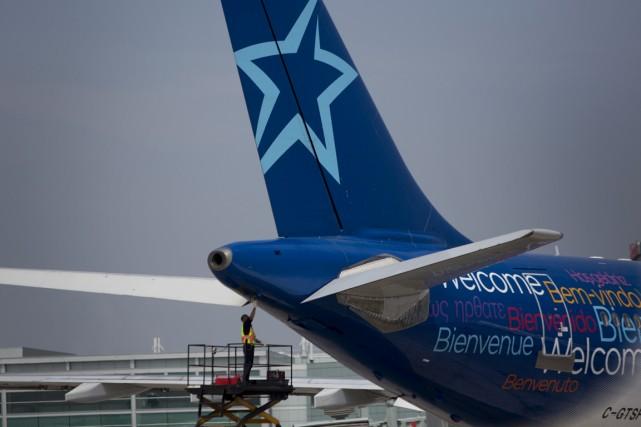 Acheter de la flexibilité. Voilà ce que propose maintenant Air Transat à ses... (Photo Brent Lewin, Bloomberg)