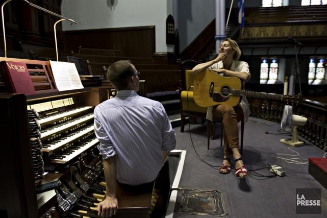 Mercredi soir dernier, Martha Wainwright répétait pour la... (Photo: Olivier Jean, La Presse)