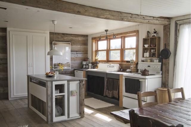 La cuisine de Caroline Bolieu et de René... (Photo fournie par Caroline Bolieu)