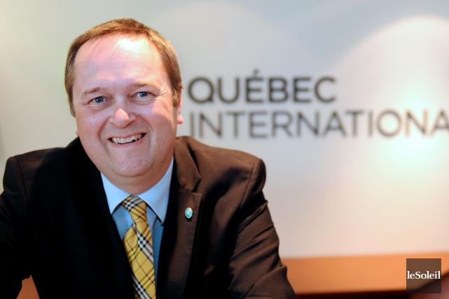 Président-directeur général de Québec International, Carl Viel n'est... (Photothèque Le Soleil, Erick Labbé)