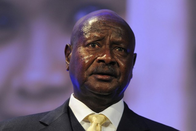 Le président ougandais Yoweri Museveni.... (PHOTO CARL COURT, ARCHIVES AP)