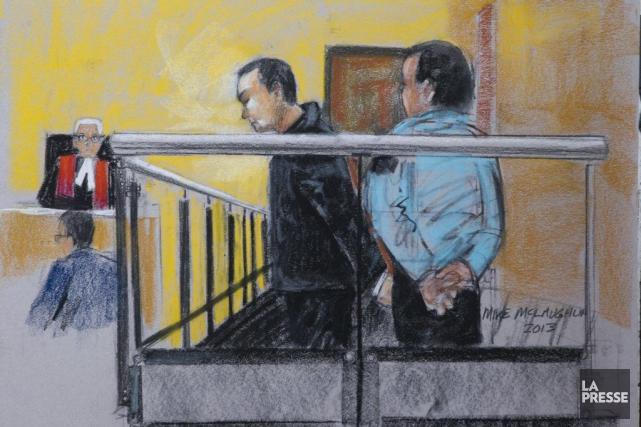 Guy Turcotte lors de son passage en cour... (Archives La Presse Canadienne)