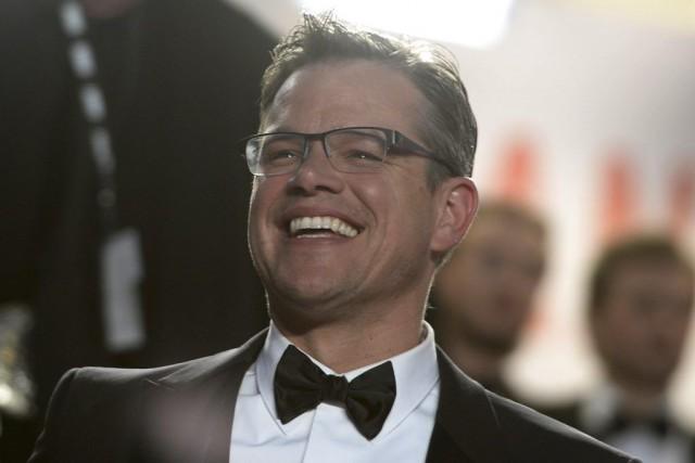 Matt Damon... (Photo Archives AFP)