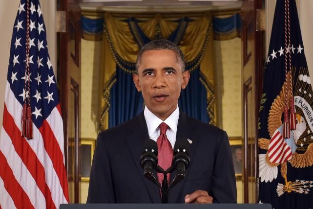 Le président Barack Obama a déclaré la guerre... (Photo Saul Loeb, Reuters)
