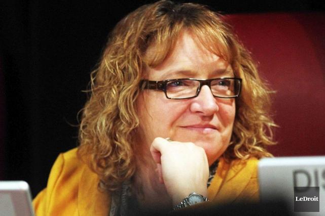 La conseillère gatnoise Sylvie Goneau.... (Étienne Ranger, Archives LeDroit)