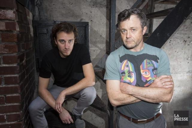 Dans la pièce Being At Home With Claude,Benoit... (PHOTO OLIVIER PONTBRIAND LA PRESSE)