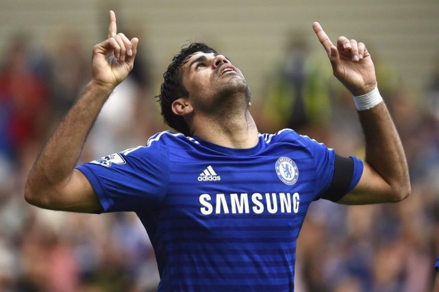 Diego Costa... (PHOTO TOBY MELVILLE, REUTERS)