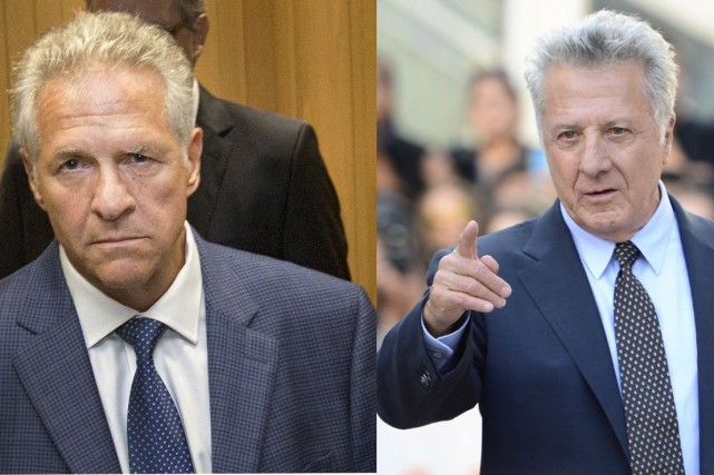 Tony Accurso et Dustin Hoffman...
