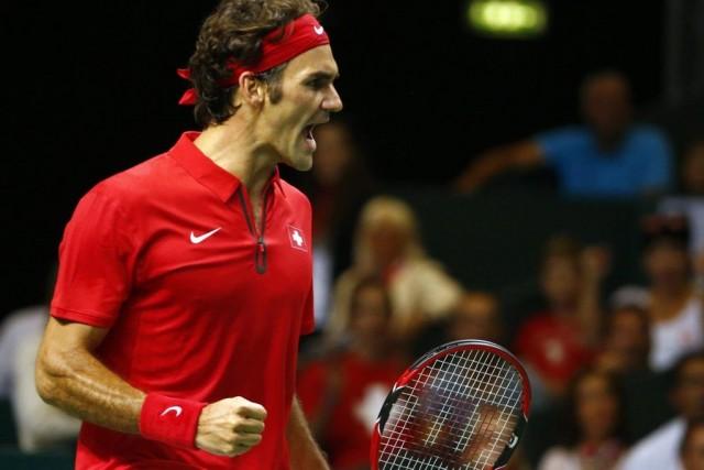 Roger Federer... (PHOTO PIERRE ALBOUY, REUTERS)