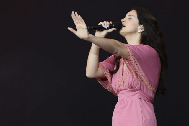 Lana Del Rey... (Photo: archives AFP)