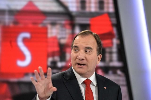 Le nouveau premier ministre suédois, Stefan Lofven... (Photo TT NEWS AGENCY)