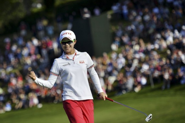Hyo-Joo Kim... (Photo Jeff Pachoud, AFP)
