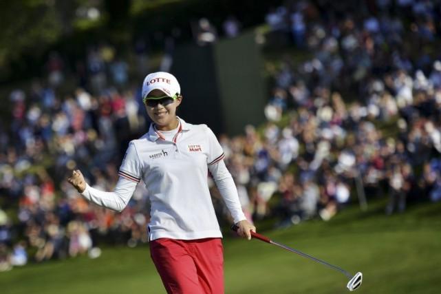 Hyo-Joo Kim... (Photo Jeff Pachoud, AFP)
