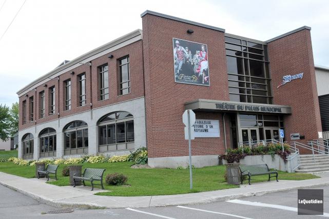 Le Théâtre du Palais municipal de La Baie.... (Archives Le Quotidien, Rocket Lavoie)