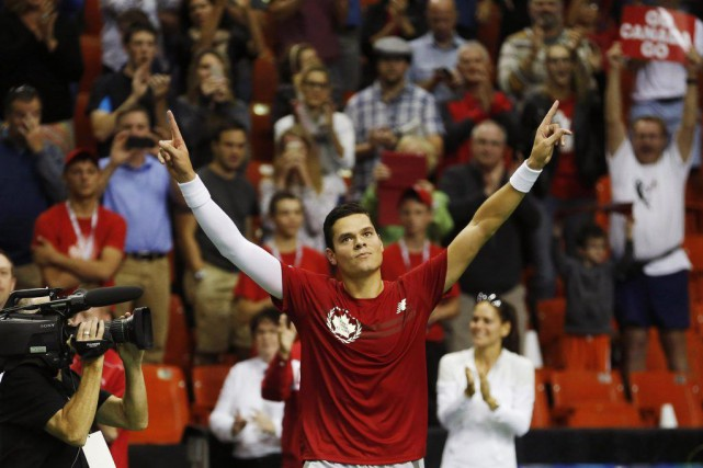 Milos Raonic... (Photo Paul Darrow, archives Reuters)