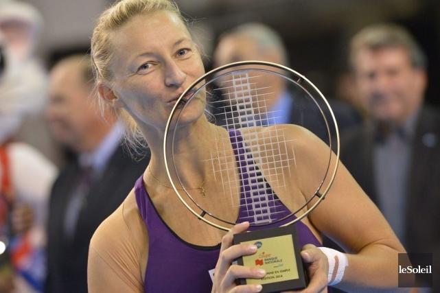 Mirjana Lucic-Baroni, 80e joueuse mondiale, a connu beaucoup... (PHOTO YAN DOUBLET, LE SOLEIL)