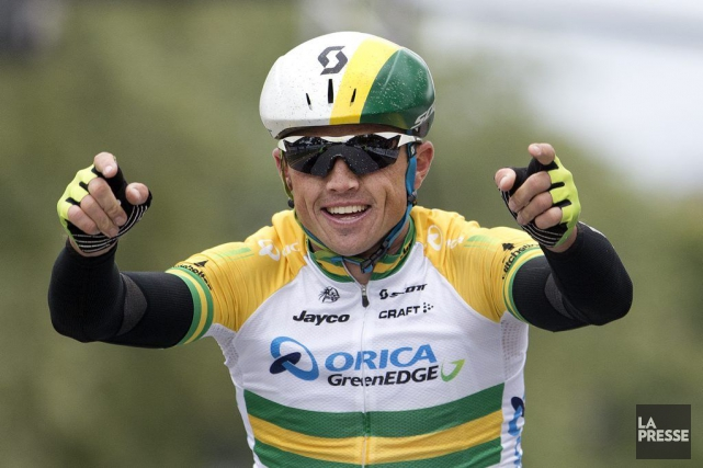 Simon Gerrans... (PHOTO ROBERT SKINNER, ARCHIVES LA PRESSE)