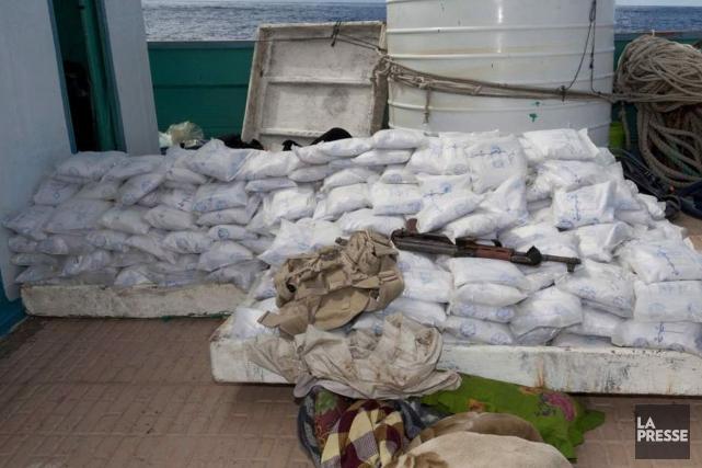 La drogue était cachée dans une cargaison de... (Photo Archives La Presse)