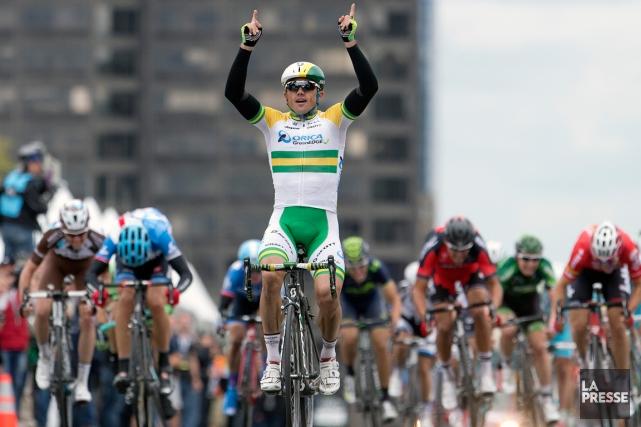 L'Australien Simon Gerrans est devenu le premier coureur... (La Presse, Robert Skinner)