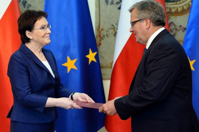 «Ce sera un bon gouvernement (...) Je sais... (PHOTO JANEK SKARZYNSKI, AFP)