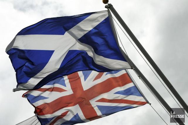 Le soutien à l'idée d'une indépendance de l'Écosse vis-à-vis du Royaume-Uni... (Photo archives Agence France-Presse)