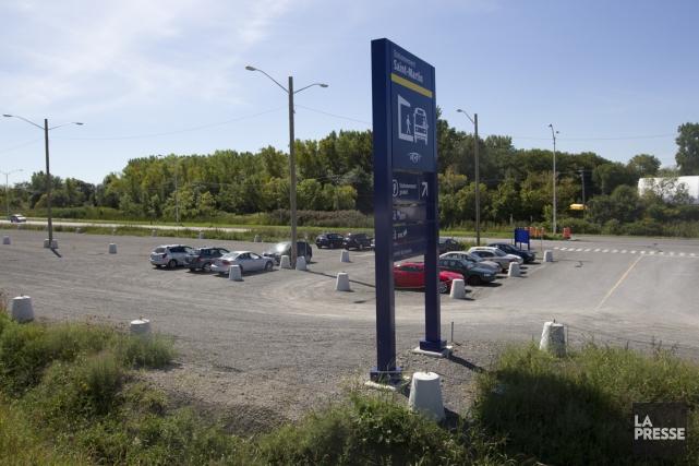 Le manque évident d'intérêt pour le stationnement incitatif... (PHOTO OLIVIER JEAN, LA PRESSE)
