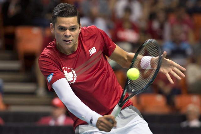 Milos Raonic... (Photo Andrew Vaughan, PC)