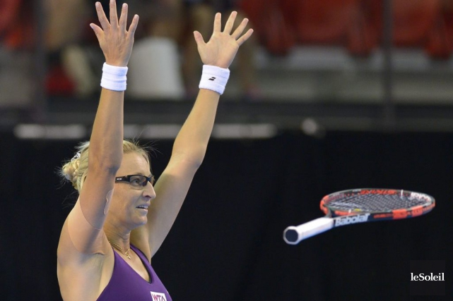 La Croate Mirjana Lucic-Baroni.... (Photo archives Le Soleil)