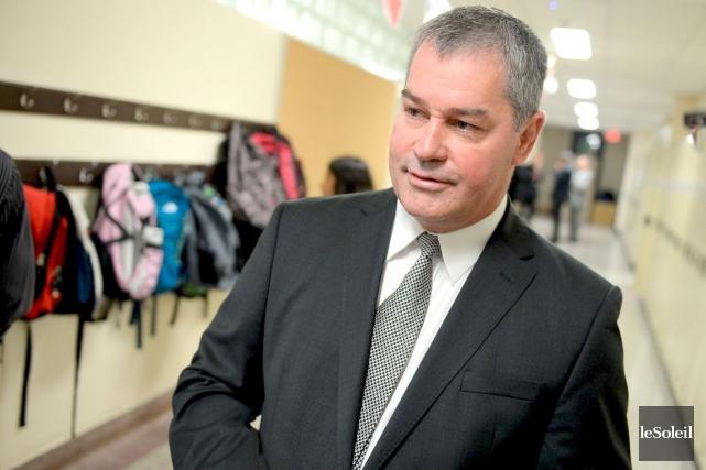 Le ministre de l'Éducation, Yves Bolduc.... (Photothèque Le Soleil, Erick Labbé)