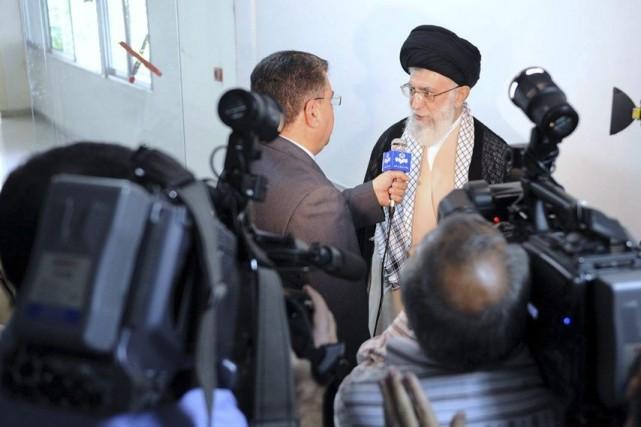 Selon l'ayatollah Khamenei, les États-Unis cherchent «un prétexte»... (PHOTO AGENCE FRANCE PRESSE)