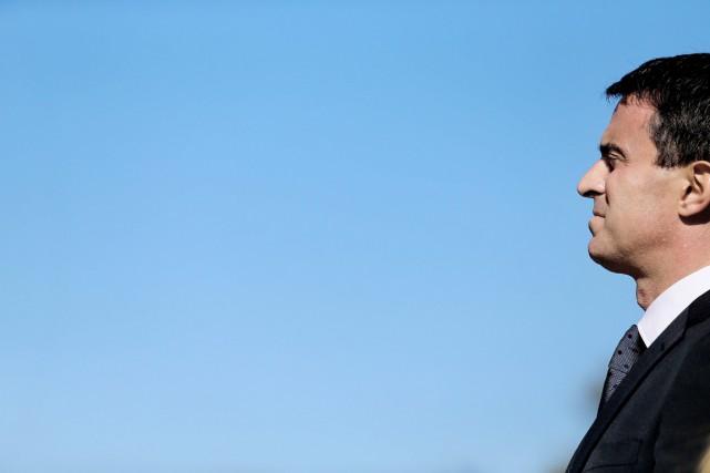 ManuelValls, dont la popularité a nettement chuté ces... (PHOTO FRANCOIS NASCIMBENI, ARCHIVES AFP)