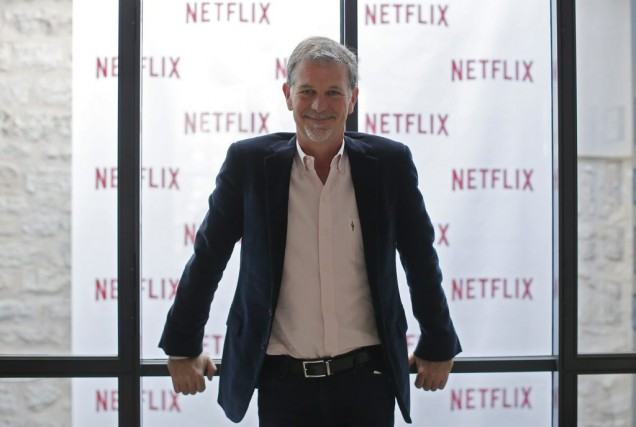 Reed Hastings, fondateur de Netflix.... (Photo: Reuters)