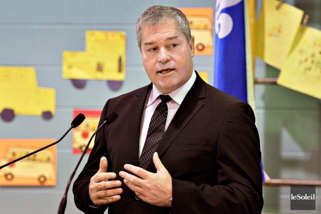 Le ministre de l'Éducation, Yves Bolduc... (Photothèque Le Soleil, Patrice Laroche)