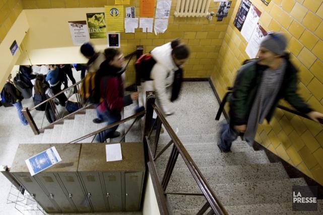 À Montréal, les étudiants qui ne paient pas... (PHOTO MARTIN TREMBLAY, ARCHIVES LA PRESSE)