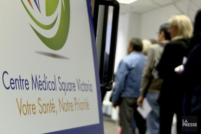 Dorénavant, les nouveaux patients ne pourront s'inscrire au... (PHOTO TIRÉE D'UNE VIDÉO DE LA PRESSE)