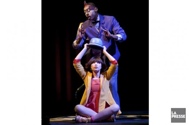Les personnages théâtraux des spectacles du Cirque seront... (Photo: André Pichette, archives La Presse)