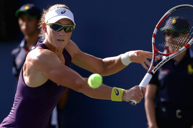 Samantha Stosur... (Photo Kathy Willens, archives AP)