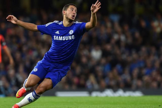 Eden Hazard... (Photo Ben Stansall, AFP)