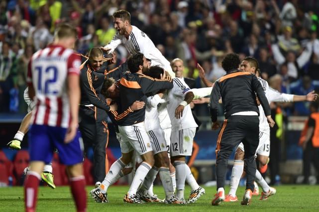 Le Real Madrid a remporté la grande finale... (Photo Miguel Riopa, archives AFP)