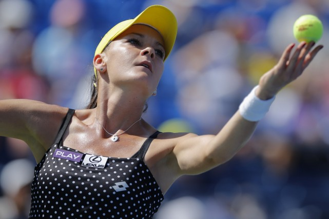 Agnieszka Radwanska... (Photo Kena Betancur, archives AFP)