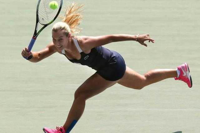 Dominika Cibulkova... (Photo Koji Sasahara, AP)