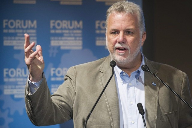 Philippe Couillard... (PHOTO GRAHAM HUGHES, ARCHIVES LA PRESSE CANADIENNE)