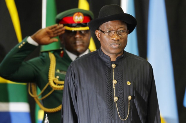 Le président Jonathanavait promis en mai «une guerre... (PHOTO THOMAS MUKOYA, ARCHIVES REUTERS)