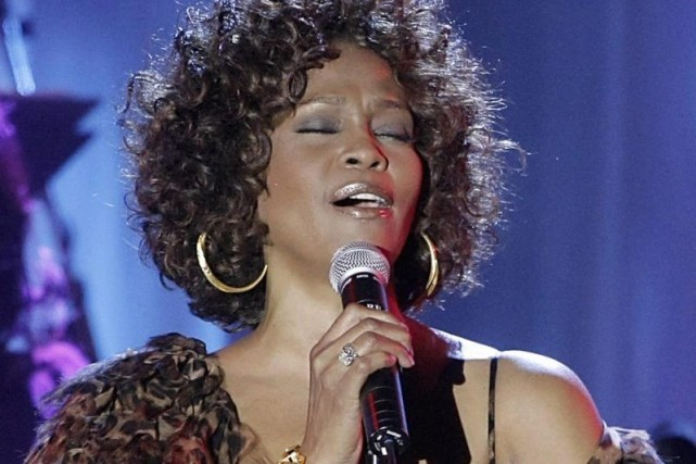 Whitney Houston... (Photo: archives AP)