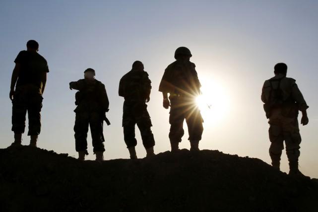 Les combattants kurdes ont repris mardi sept villages... (PHOTO AHMED JADALLAH, archives AFP)