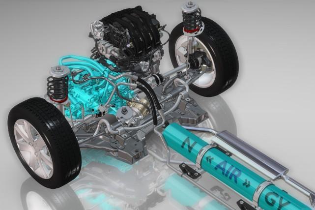 La technologie a été implantée dans une Peugeot... (Photo fournie par Peugeot)