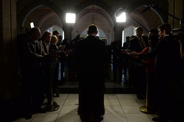 Le ministre canadien des Affaires étrangères, John Baird... (Photo Sean Kilpatrick, PC)