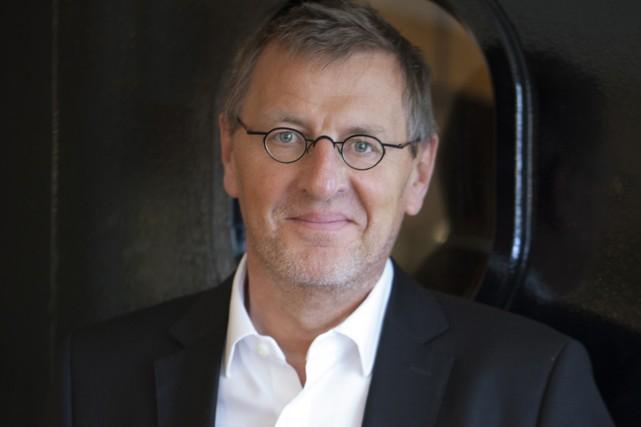 L'écrivain français Grégoire Delacourt lance On ne voyait... (Bruno Charoy, Hachette Canada)